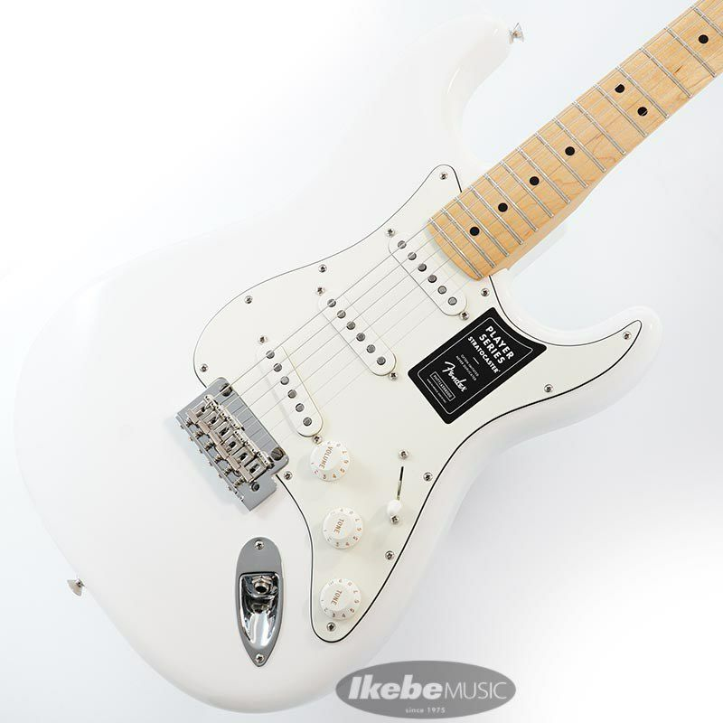 Player Stratocaster (Polar White/Maple) [Made In Mexico] 【特価】_1