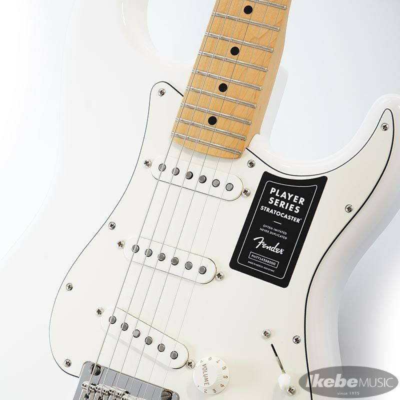 Player Stratocaster (Polar White/Maple) [Made In Mexico] 【特価】_4
