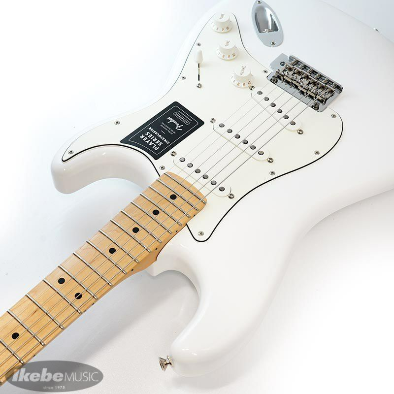 Player Stratocaster (Polar White/Maple) [Made In Mexico] 【特価】_6