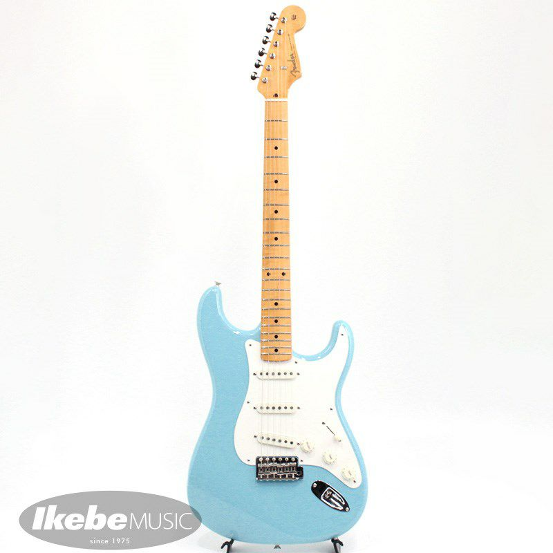Limited Edition 1957 Stratocaster NOS AA Flame Neck (Daphne Blue)_2