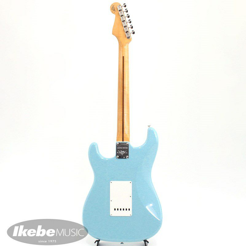 Limited Edition 1957 Stratocaster NOS AA Flame Neck (Daphne Blue)_3