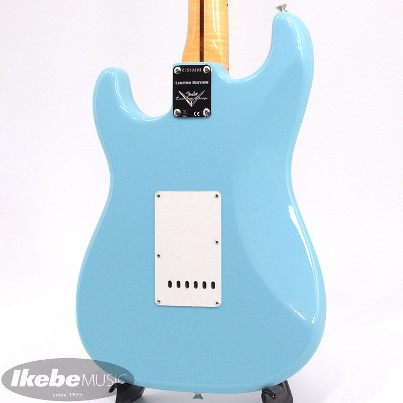 Limited Edition 1957 Stratocaster NOS AA Flame Neck (Daphne Blue)_4