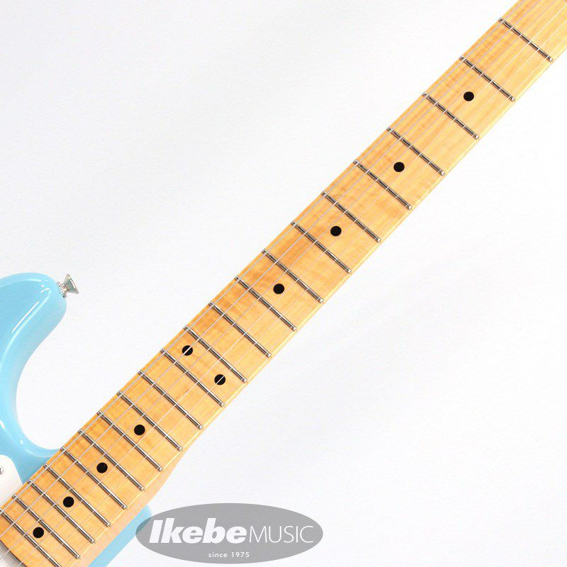 Limited Edition 1957 Stratocaster NOS AA Flame Neck (Daphne Blue)_5