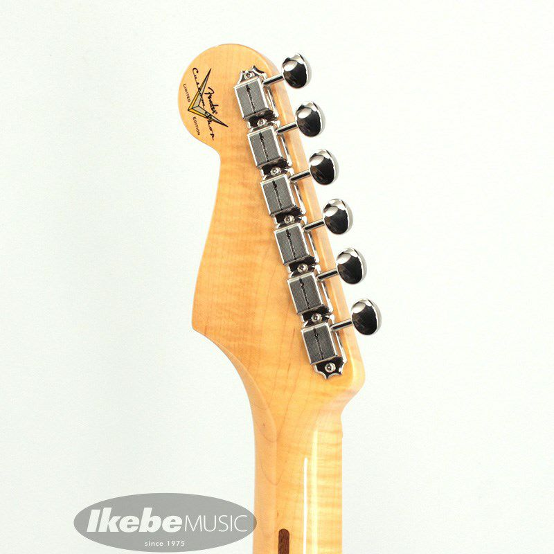 Limited Edition 1957 Stratocaster NOS AA Flame Neck (Daphne Blue)_8