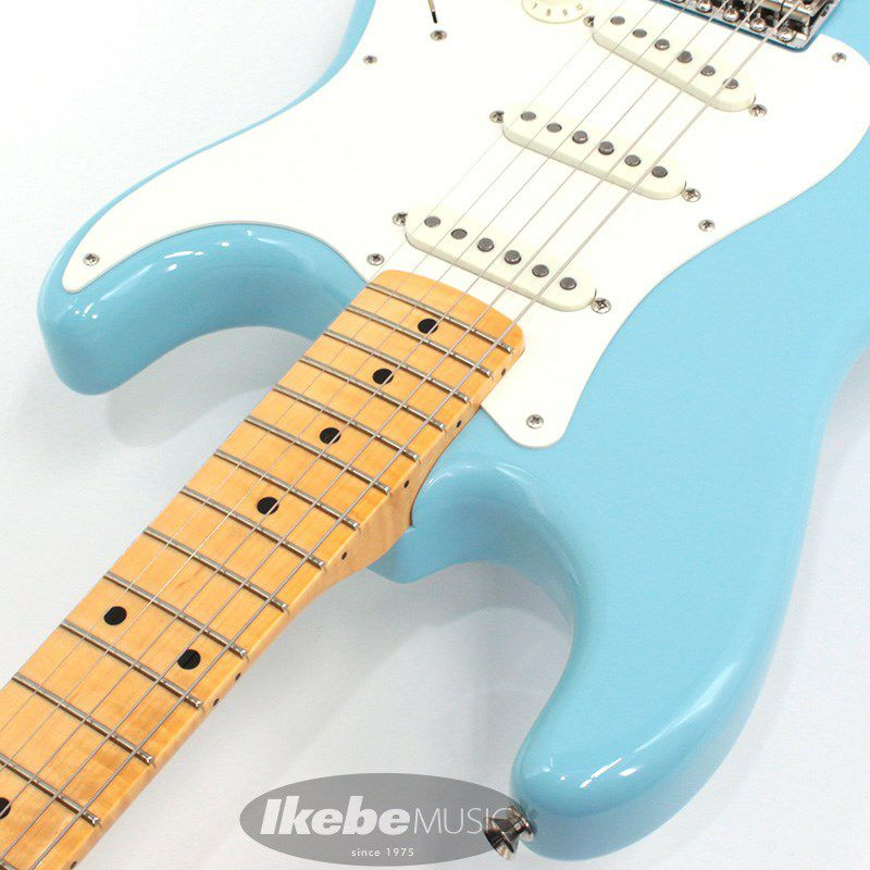 Limited Edition 1957 Stratocaster NOS AA Flame Neck (Daphne Blue)_9