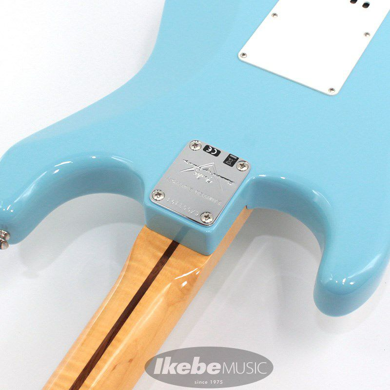 Limited Edition 1957 Stratocaster NOS AA Flame Neck (Daphne Blue)_11