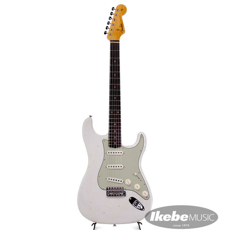 2021 Limited Edition 1961 Stratocaster Journeyman Relic Olympic White_2