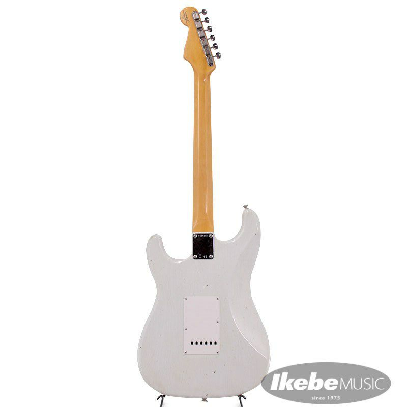2021 Limited Edition 1961 Stratocaster Journeyman Relic Olympic White_3