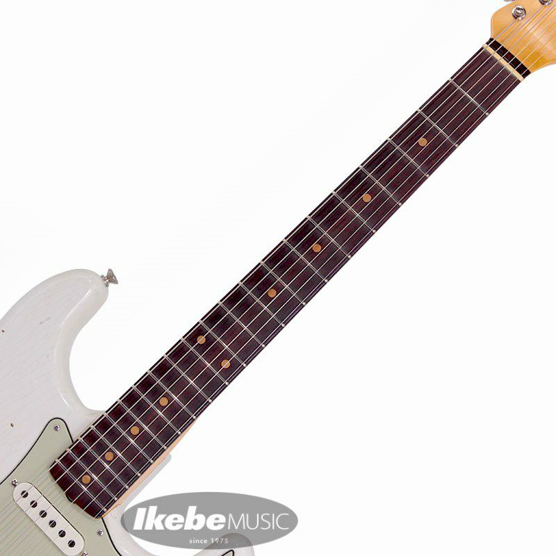 2021 Limited Edition 1961 Stratocaster Journeyman Relic Olympic White_6
