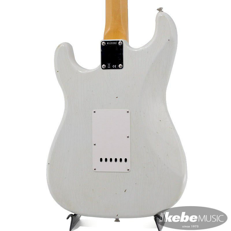 2021 Limited Edition 1961 Stratocaster Journeyman Relic Olympic White_8