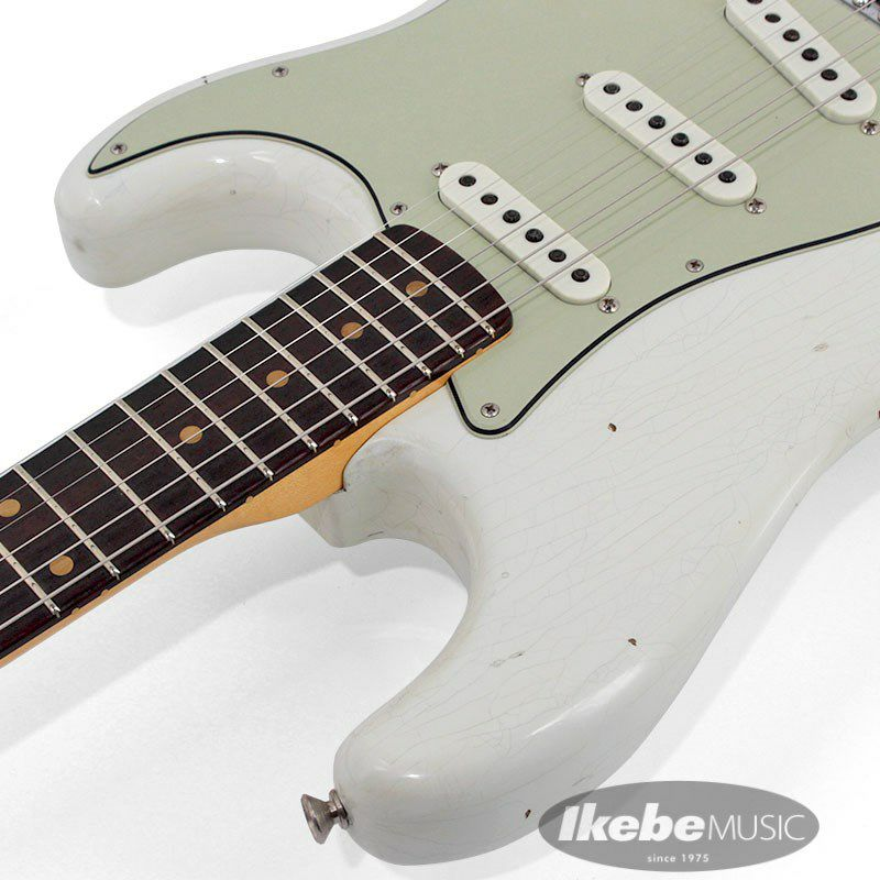2021 Limited Edition 1961 Stratocaster Journeyman Relic Olympic White_9