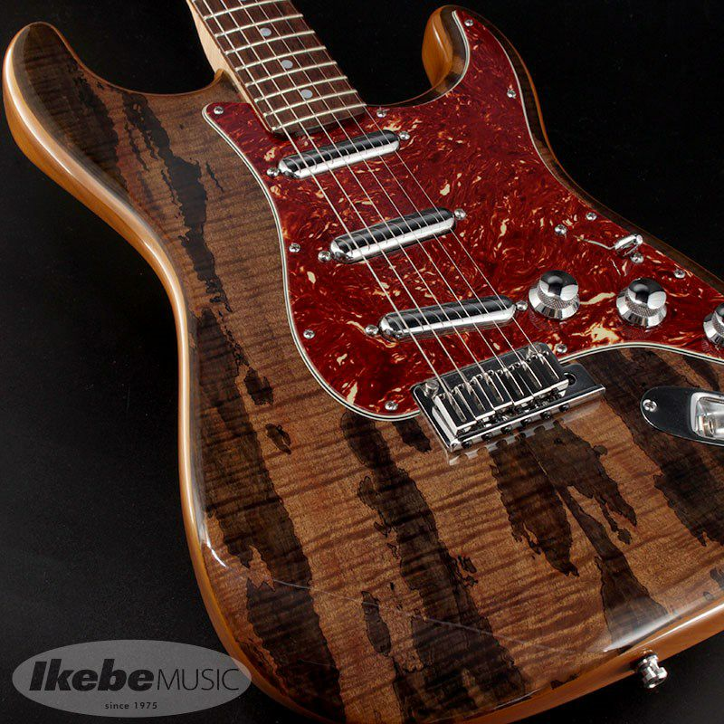 2014 Limited Edition Spalted Maple Top Artisan Stratocaster Buckeye Mod.【中古品】_7