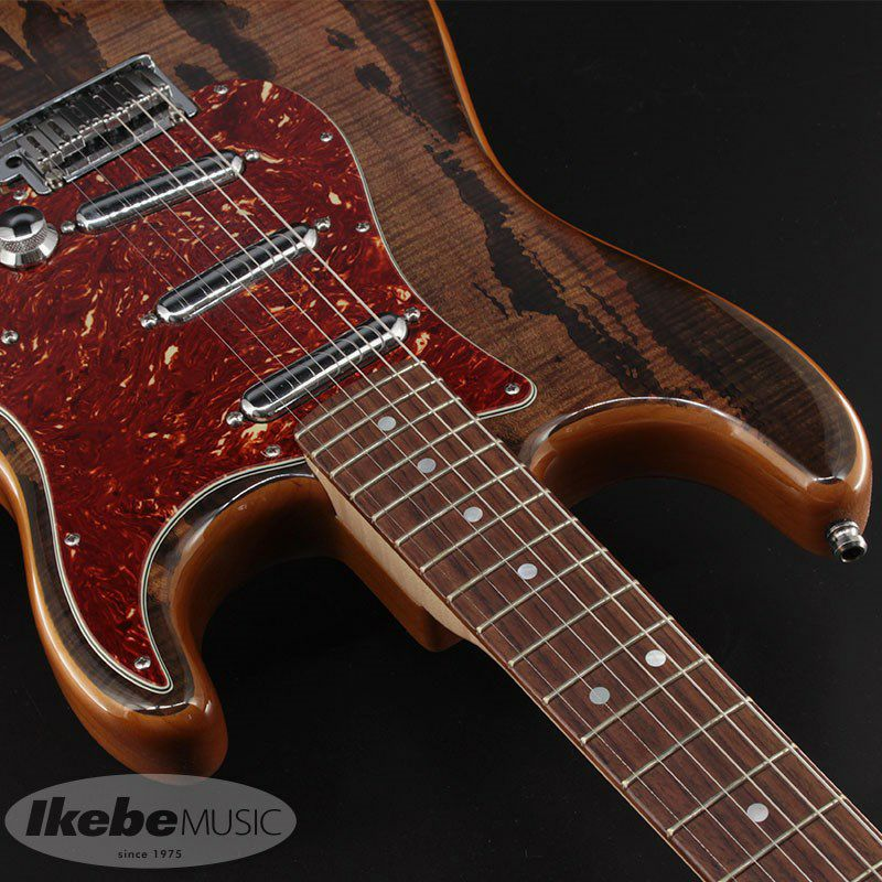 2014 Limited Edition Spalted Maple Top Artisan Stratocaster Buckeye Mod.【中古品】_9