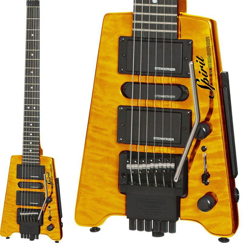 "Spirit GT-PRO ""QUILT TOP"" DELUXE (TA/Trans Amber)_1"