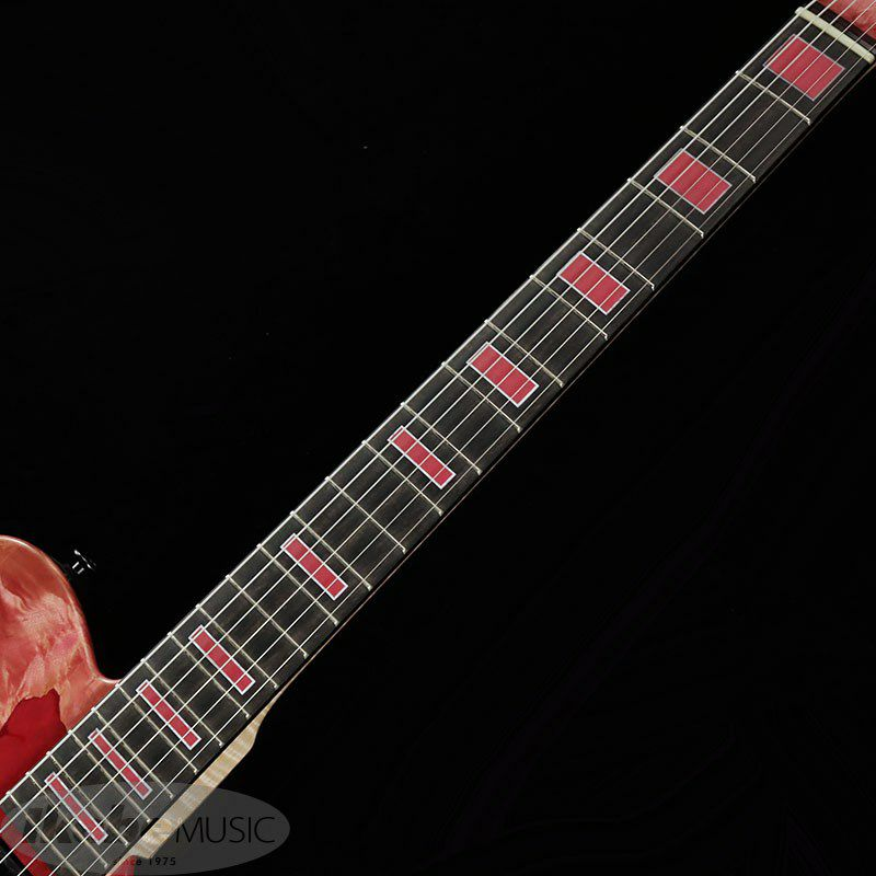 IKEBE 45th Anniversary MT-IKB45TH Burl Maple×Resin (See-through Pink w/Red Resin)_8