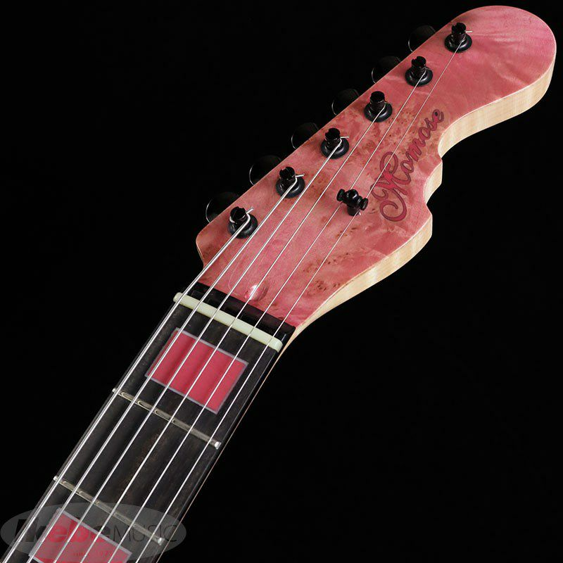 IKEBE 45th Anniversary MT-IKB45TH Burl Maple×Resin (See-through Pink w/Red Resin)_10
