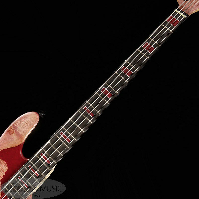 IKEBE 45th Anniversary MJ-IKB45TH Burl Maple×Resin (See-through Pink w/Red Resin)_8