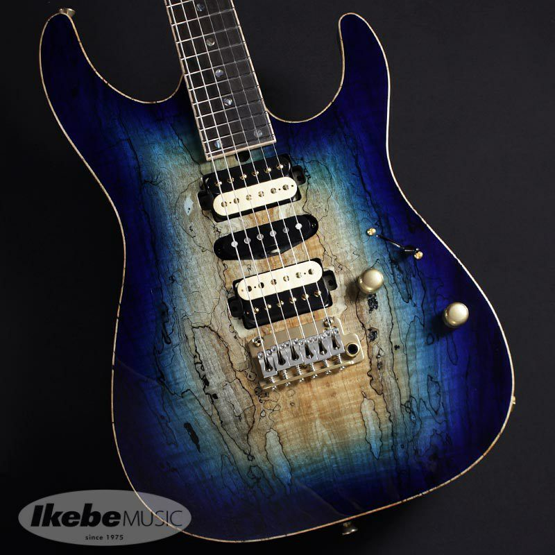 DST-Pro24, Devil Bros. Spalted Maple Top 【青鬼 Ikebe 45th Anniversary Version】 #032079_1