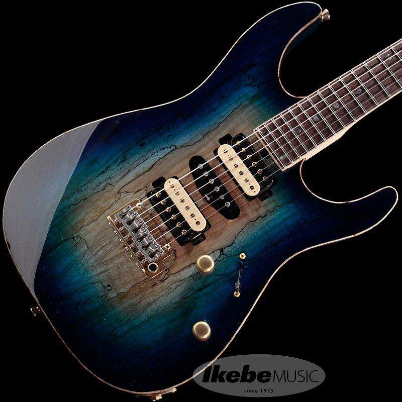 DST-Pro24, Devil Bros. Spalted Maple Top 【青鬼 Ikebe 45th Anniversary Version】 #032080_2