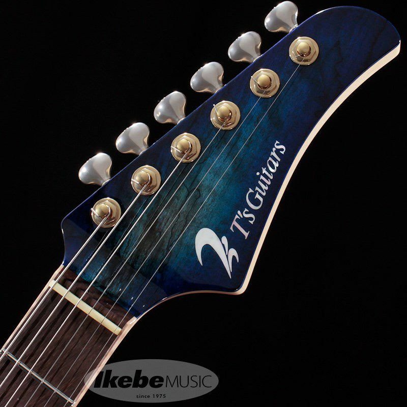 DST-Pro24, Devil Bros. Spalted Maple Top 【青鬼 Ikebe 45th Anniversary Version】 #032080_7