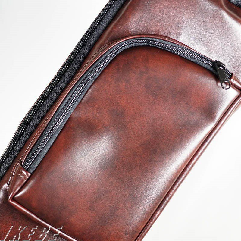 "IKEBE ORDER Protect Case for Semi-Acoustic Guitar ""BROWN LEATHER"" [セミアコ用] 【受注生産品】_3"