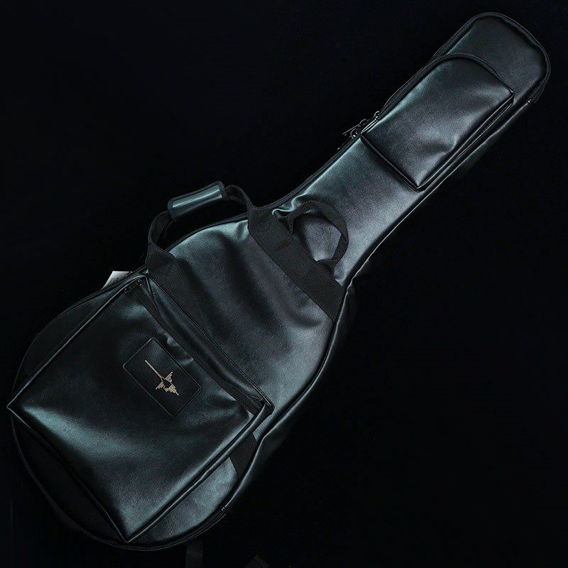 """IKEBE ORDER Protect Case for Semi-Acoustic Guitar """"BLACK LEATHER"""" [セミアコ用] 【受注生産品】_1"""