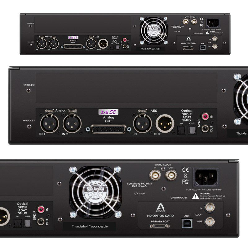 Symphony I/O MKII PTHD Chassis with 2x6 SE【お取り寄せ商品】_2