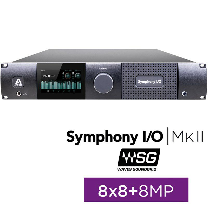 Symphony I/O MKII SoundGrid Chassis with 8x8+8MP 【国内正規品】【受注生産品:納期約一ヶ月】_1