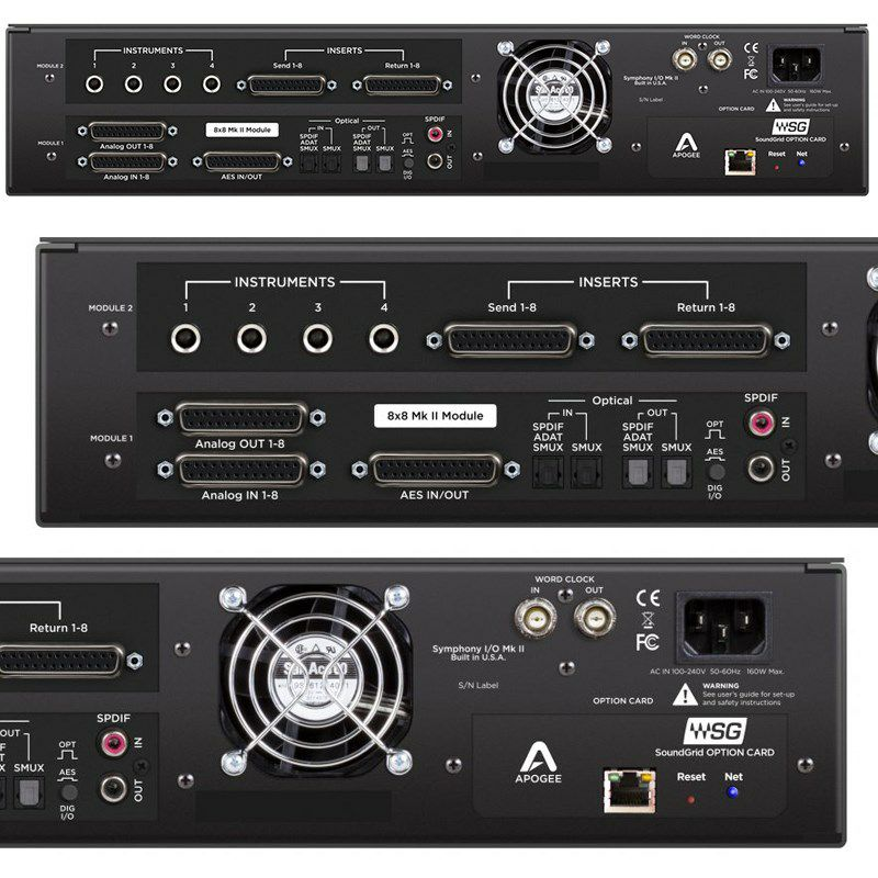 Symphony I/O MKII SoundGrid Chassis with 8x8+8MP 【国内正規品】【受注生産品:納期約一ヶ月】_2