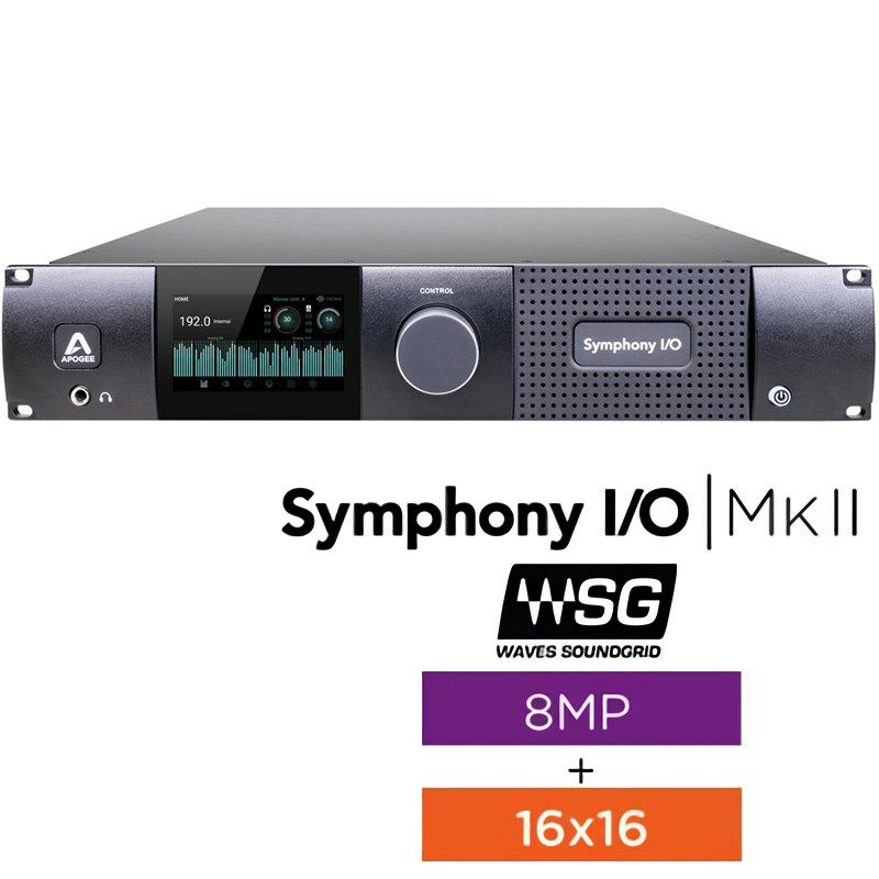 Symphony I/O MKII SoundGrid Chassis with 16x16+8MP 【国内正規品】【受注生産品:納期約一ヶ月】_1