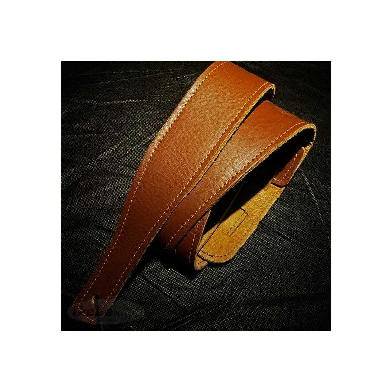 """#73040 Pinnacle 2""""Milled Leather(Chestnut)_1"""