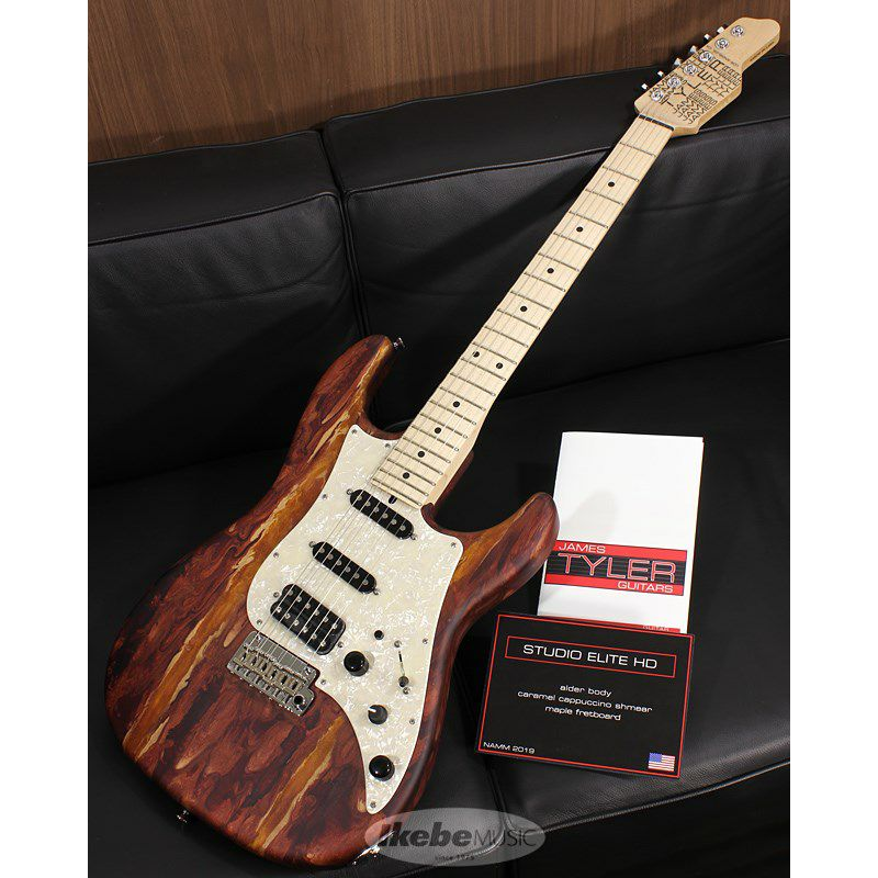 Studio Elite HD Caramel Cappuccino Shmear Alder Body 【SN.19017 / Weight≒3.5kg 】【2019 NAMM SHOW 出展モデル】_1