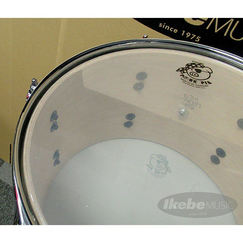 9ply Oak Shell 3pc Drum Set w/African Marble + Natural Satin Finish 【店頭展示特価品】_6