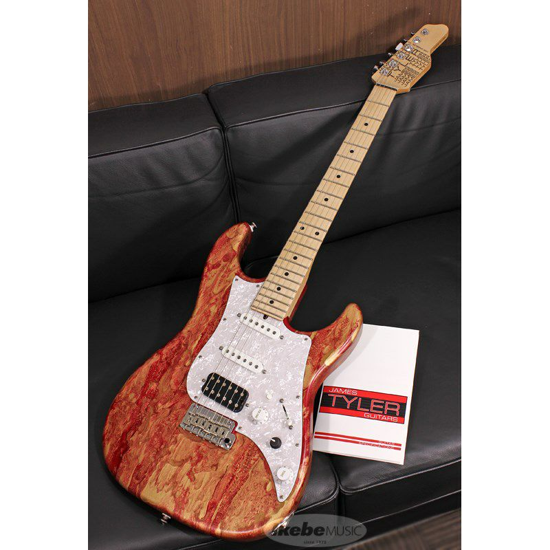 Studio Elite HD Red Shmear Finish Alder Body/Maple Fingerboard SN.20089_1