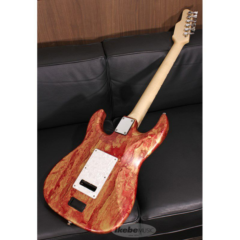 Studio Elite HD Red Shmear Finish Alder Body/Maple Fingerboard SN.20089_2