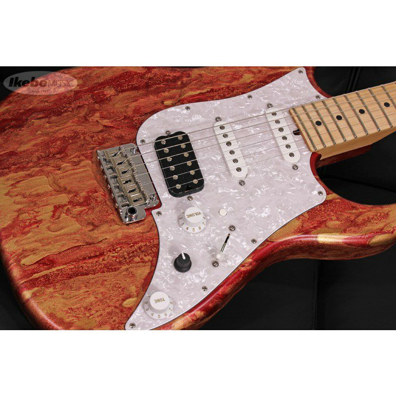 Studio Elite HD Red Shmear Finish Alder Body/Maple Fingerboard SN.20089_4