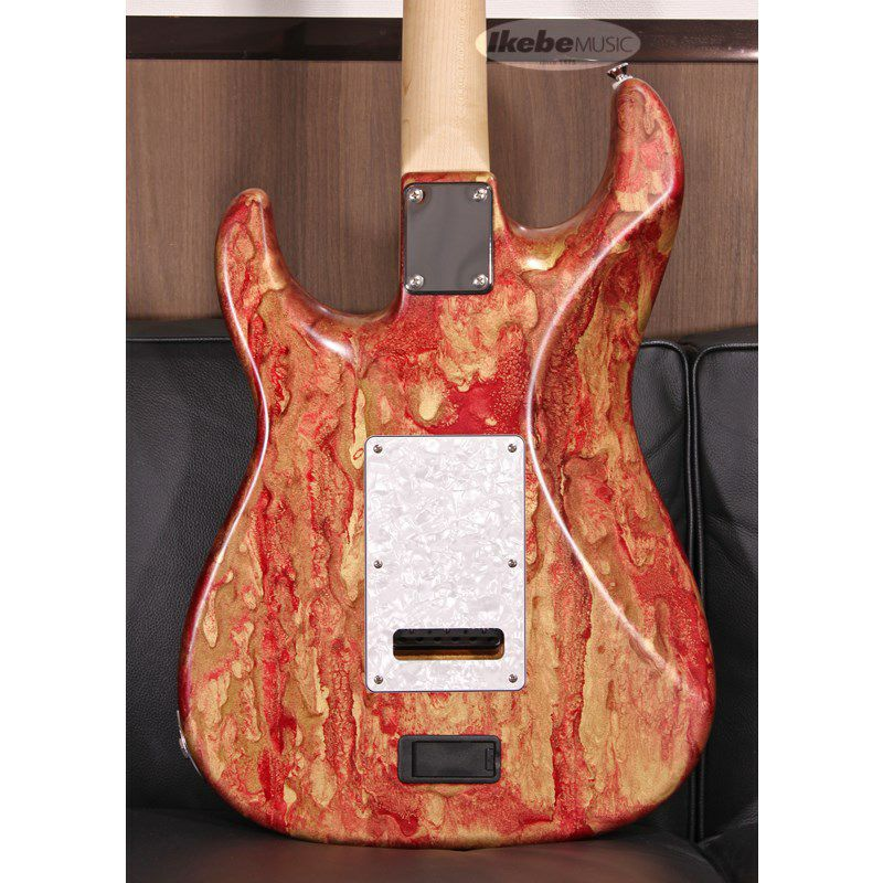 Studio Elite HD Red Shmear Finish Alder Body/Maple Fingerboard SN.20089_10
