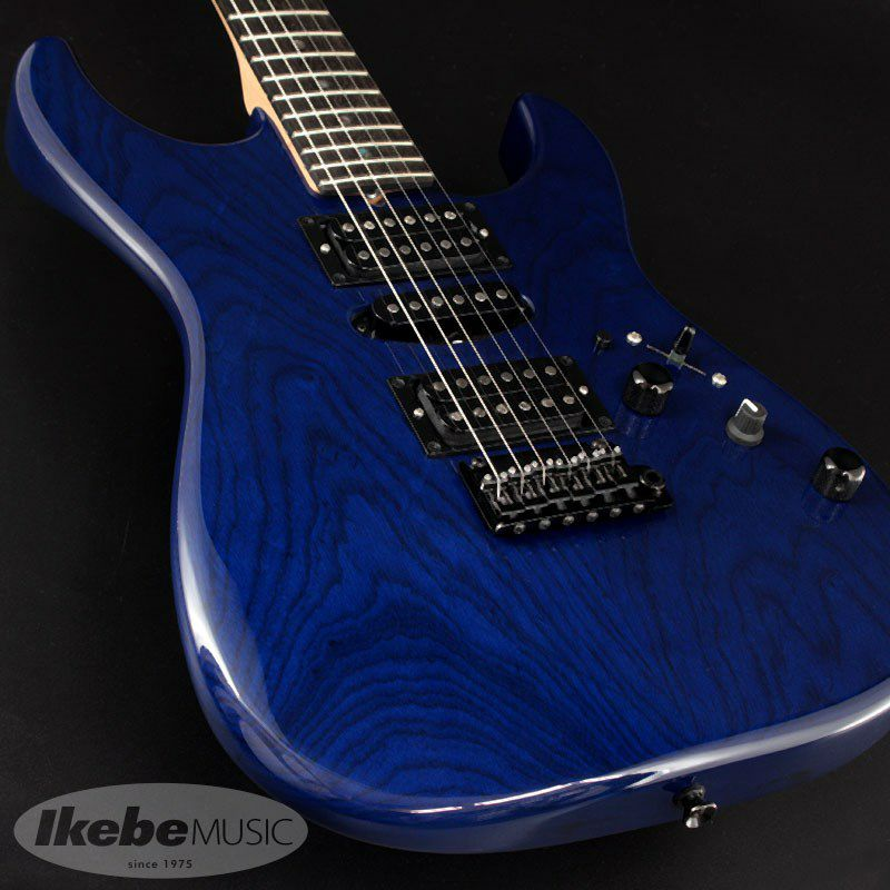 Japan Studio Elite HD Rear Route HSH/Ash/Ebony/Trans Royal Blue/MH 【SN.J20080】_8