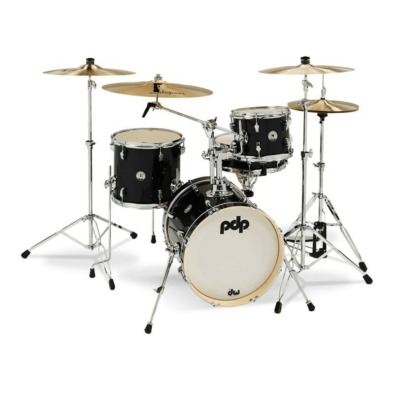 "New Yorker 4pc Compact Kit [PDNY1604/BO / BD16"", FT13"", TT10"", SD14"" / Black Onyx Sparkle]_1"