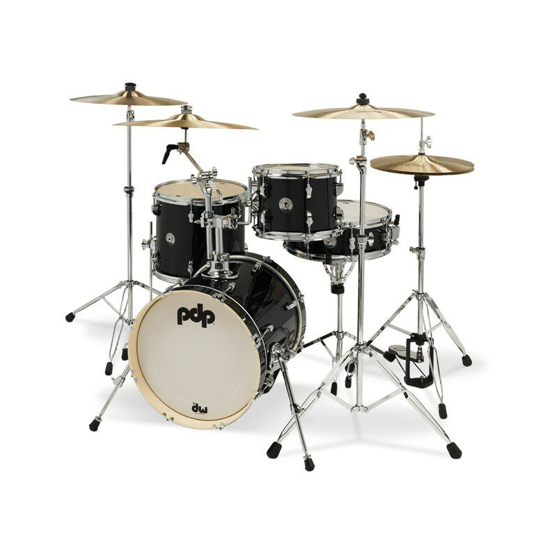 "New Yorker 4pc Compact Kit [PDNY1604/BO / BD16"", FT13"", TT10"", SD14"" / Black Onyx Sparkle]_2"