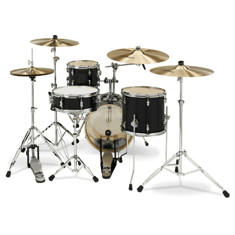 "New Yorker 4pc Compact Kit [PDNY1604/BO / BD16"", FT13"", TT10"", SD14"" / Black Onyx Sparkle]_3"
