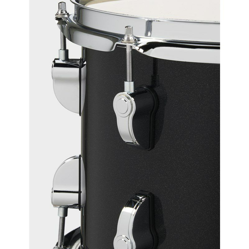 "New Yorker 4pc Compact Kit [PDNY1604/BO / BD16"", FT13"", TT10"", SD14"" / Black Onyx Sparkle]_4"