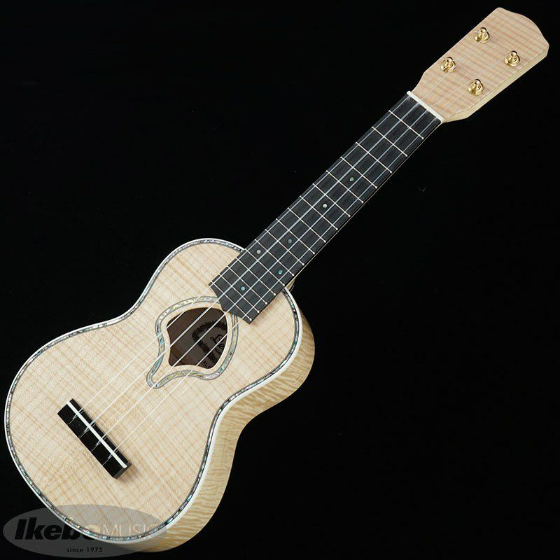 LUK-2000S/Flame Maple (Natural) [Soprano Ukulele]_3