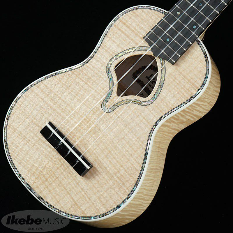 LUK-2000S/Flame Maple (Natural) [Soprano Ukulele]_5