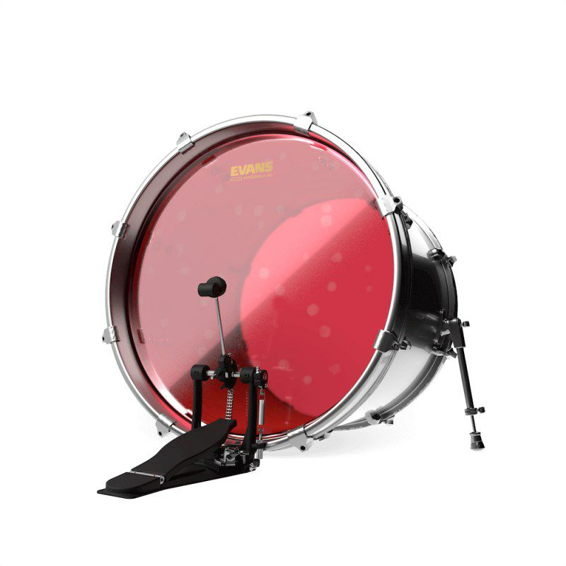 "BD22HR [Hydraulic Red 22"" / Bass Drum] 【2ply , 7mil + 7mil】【数量限定特価!】_3"