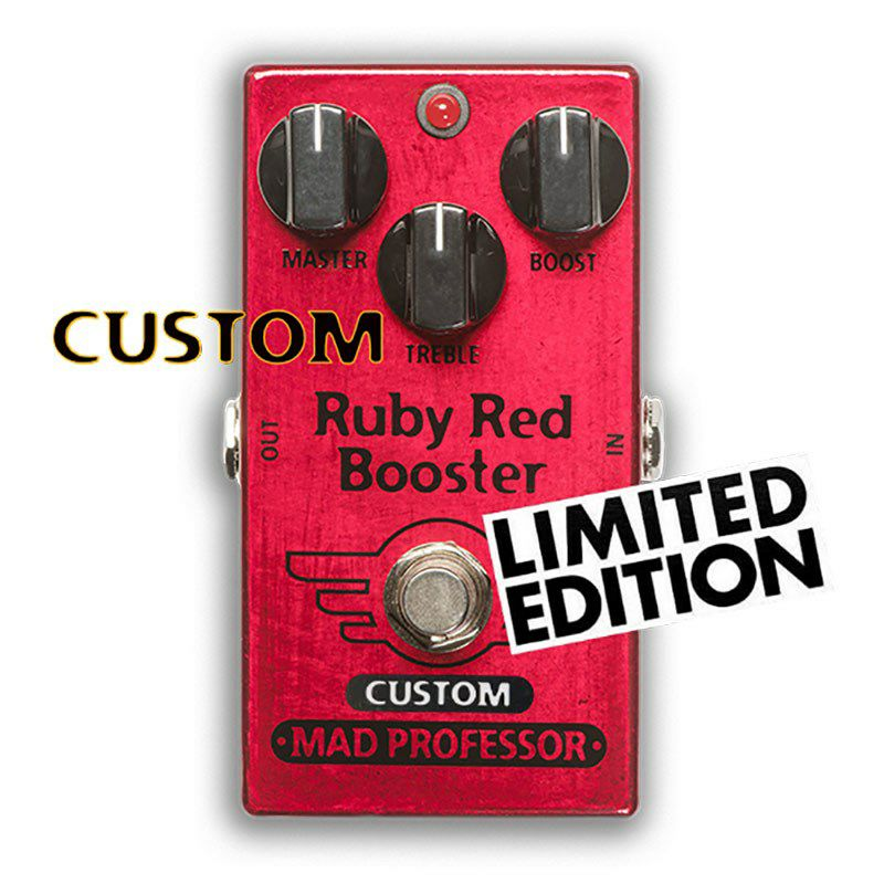 """Ruby Red Booster """"Nashville Hot Mids Solo Boost"""" MOD_1"""