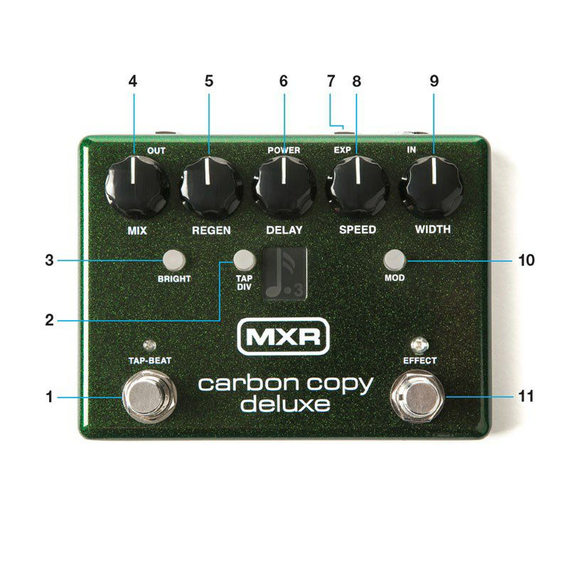M292 Carbon Copy Deluxe Analog Delay 【数量限定9Vアダプタープレゼント】_5