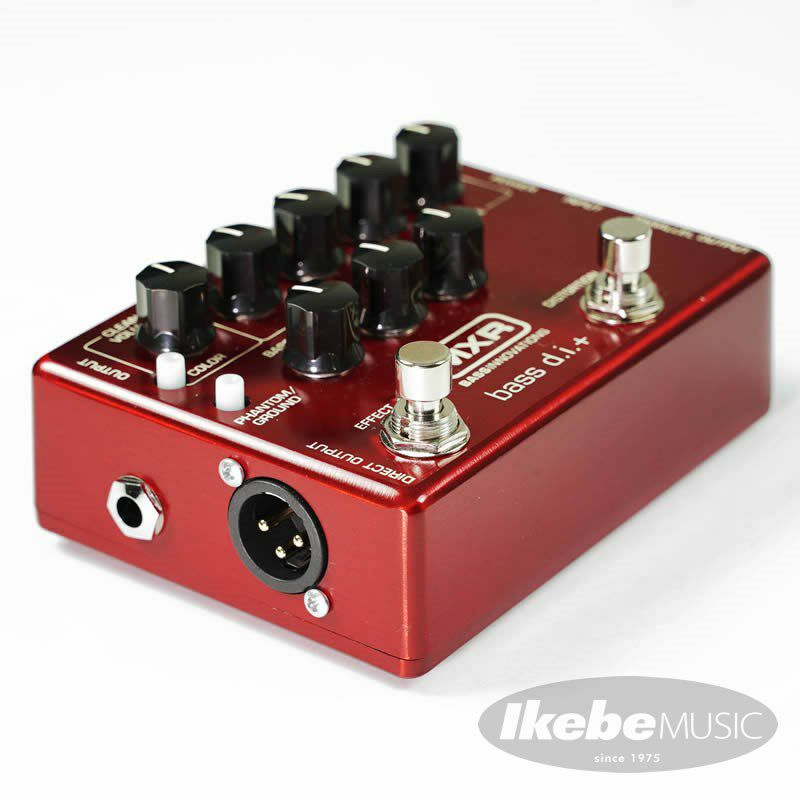 """IKEBE ORIGINAL M80 BASS D.I.+ """"Brushed Red"""" 【数量限定アダプタープレゼント】_4"""