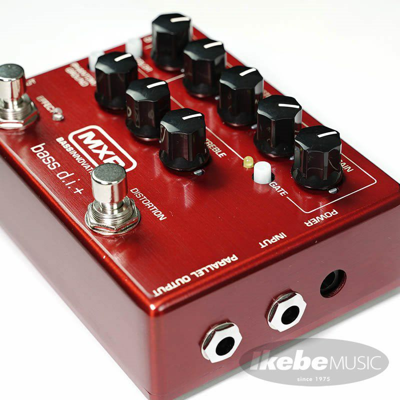 """IKEBE ORIGINAL M80 BASS D.I.+ """"Brushed Red"""" 【数量限定アダプタープレゼント】_7"""
