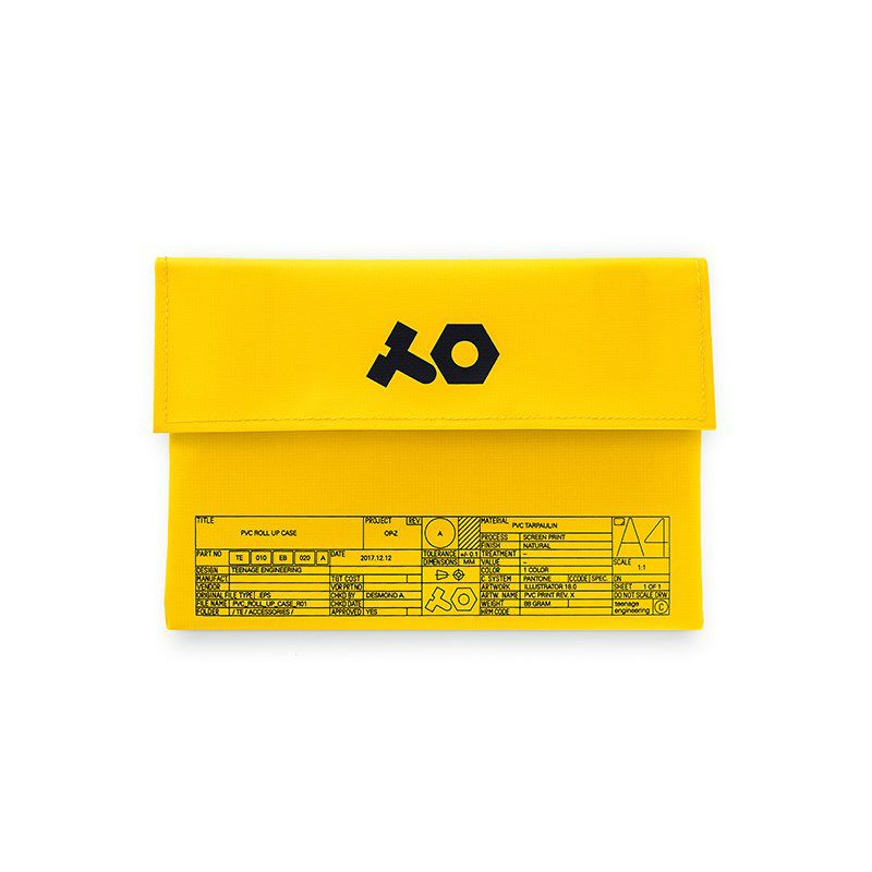 OP-Z pvc roll up yellow bag(ポリ塩化ビニル)_1